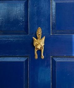 Sometimes I see things and canu0027t help but think of you @Elizabeth Lockhart. (Fox door knocker would be perfect on any grey or greige door. & Sometimes I see things and canu0027t help but think of you @Elizabeth ...