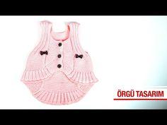 Bolera kız yeleği şahane - YouTube Baby Vest, Wordpress Theme, Crochet Baby, Diy And Crafts, Indigo, Tank Tops, Knitting, Pattern, How To Make