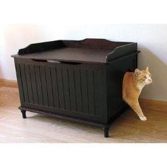 1000 id es sur cacher les liti res sur pinterest bo tes de chat bacs liti re pour chat et. Black Bedroom Furniture Sets. Home Design Ideas