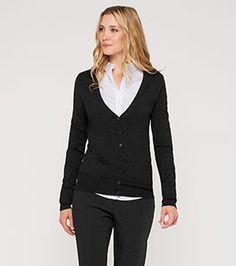 Cardigan in der Farbe schwarz bei C&A