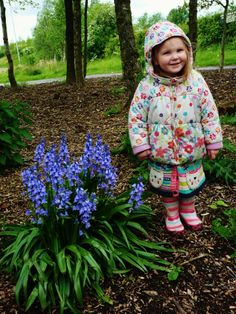 #35 Thanks to Danyele for the beautiful images! She writes: 'Emily went to a local lake to see the ducks, walk in mud, play with sticks and find Bluebells.' www.nationalchildrensdayuk.com