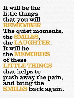Grief - 'Little Things' Pocket Card - By: Katie Pertiet Great Quotes, Quotes To Live By, Me Quotes, Inspirational Quotes, Qoutes, Loss Of A Loved One Quotes, Rest In Peace Quotes, Tupac Quotes, Motivational