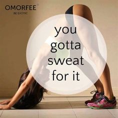 You Gotta Sweat For It Quotes Cute Quote Girl Fitness Workout Motivation  Exercise Motivate Workout Motivation Exercise Motivation Fitness Quote  Fitness ...