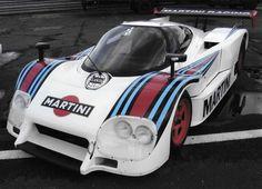 LANCIA LC2 GROUP C MARTINI LARGE A4 PHOTOGRAPH HISTORIC RACING | eBay