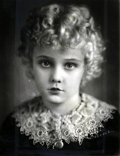 "Jean Darling of ""Our Gang"" - still living. Jean's personal website: indigo.ie/~jdarling/ 1931"