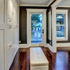 closet, craftsman bedroom by Board and Vellum