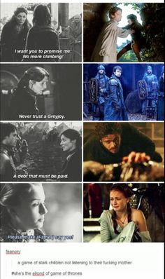 GoT, Catelyn Stark, mother knows best