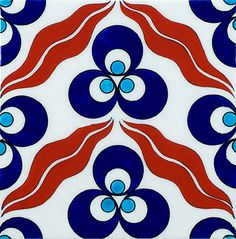 Ann Sacks does Ottoman style Iznik tiles - neato