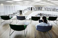 Biblioteca y Mediateca Dalarna / ADEPT,© Kaare Viemose