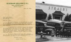 1936: Straub's purchased Kopman Grocery Company in Clayton, MO