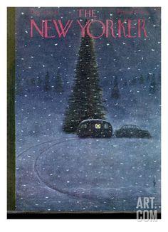 The New Yorker Cover - December 27, 1947 Regular Giclee Print by Garrett Price at eu.art.com