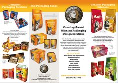 Packaging sample Brochure