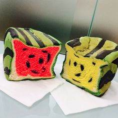 Water melon bread