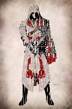 Assassin's Creed Inspired Ezio Poster Vol 2 by GeekMyWalL on Etsy League Of Legends, Deutsche Girls, Assassins Creed Quotes, Assasins Cred, Assassin's Creed Wallpaper, Xbox, Playstation, Assassin's Creed Brotherhood, Cultura Pop
