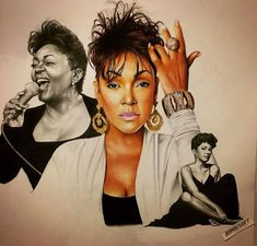 Soul Singers, Pastel Portraits, Various Artists, Colored Pencils, Mixed Media, Fictional Characters, Markers, Charcoal, Medium