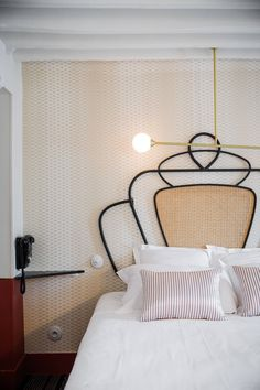 Bedroom | Hotel Panache in Paris | est living