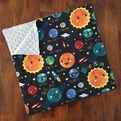 A perfect, cuddly blanket for staying in or on the go, these flannel and minky blankets are perfect for gifting (or keeping for yourself)!! With flannel on the front and super soft minky on the back, this blanket is lightweight enough for year round use. Blankets measure approximately