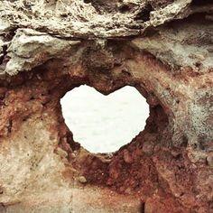 Quando la natura ti regala un cuore♥♥♥