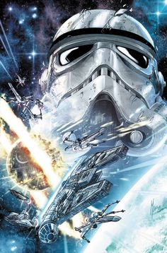 Shattered Empire #1 cover art by Marco Checchetto