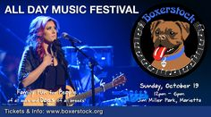 Boxerstock 2014 - All Day Music Festival - boxerstock org American Idol Finalists, Jim Miller, Boxer Rescue, Dog Runs, Family Events, Live Music, Fundraising, Day, Movie Posters