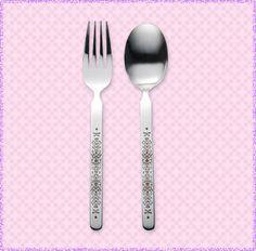 Pokemon Center Halloween Promo 2013 Haunted Night spoon and fork set