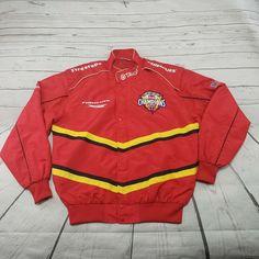 2d53e00ba Firestone Racing Jacket Size Large Firehawk Champions Indy Target Vintage  Used #FirestoneRacing #Windbreaker #