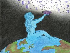 Mother Earth's Offering~ artist: AnneMarie Aiyanaquene