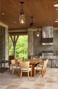 Outdoor Kitchen. Outdoor Kitchen Ideas. Practical and beautiful outdoor kitchen…