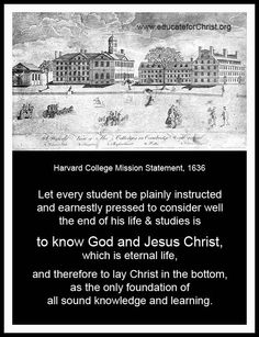 Preparing Parents & Teachers for Their Primary Purpose of Educating Generations for Christ Harvard College, Parents As Teachers, Gods Plan, Christian Parenting, Past Life, Knowing God, Religious Quotes, Jesus Christ, How To Memorize Things