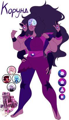 Steven Universe Fan fusion: Corundum