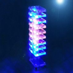 Led Diy, Cube Music, Column Lights, Esp8266 Wifi, Deco Led, Discovery Toys, Electronic Kits, Science Projects For Kids, Impressionism