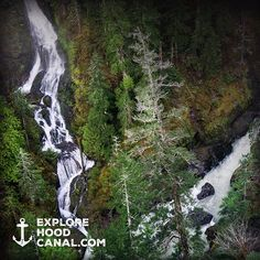#Love is like a #waterfall, it pours out of you forever.  #wildsideWA #skokomish #river #waterfall #explorehoodcanal #nature #love #beauty