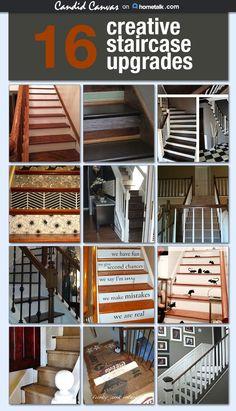 16 creative staircase upgrades