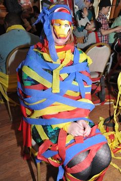 Capture the Villian! Superhero party game. This was a huge hit with the kids and…