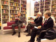Incontro con GRAMSCIANA alla Libreria Laterza di Bari, 7 marzo 2014: Angelo d'Orsi, Silvio Suppa e Pasquale Voza.