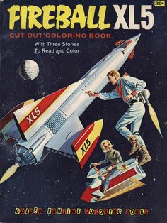 The cover of a Golden Funtime Coloring Book (1965)