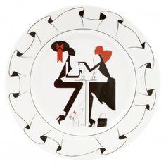 Piet Paris Ruffle Plate