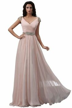 Emma Y V-Neck Short Sleeves Maxi Dresses Party Dress- US Size 2-pearl pink Emma Y Lady,http://www.amazon.com/dp/B00GGC0YZW/ref=cm_sw_r_pi_dp_oxX6sb0F26BQ1AX8