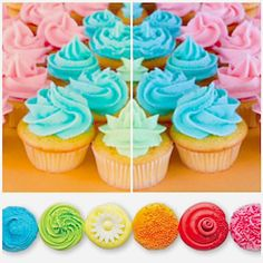 Frosting Starter #recipe from CandH Sugar    ~Make one simple frosting base that creates a variety of frosting colors and flavors, perfect for cupcakes, cakes and more. Raspberry, lemon, orange or grape are a few of the frosting flavors to try.