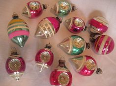 Vintage Christmas Ornaments offered by This That And Christmas