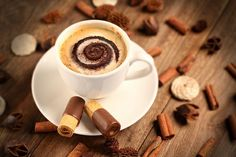 Imagen de coffee and chocolate