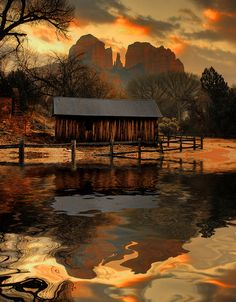 looking for rainbows in the moonlight — wasbella102: Sedona Flood (By ~ Aaron Reed ~) ...