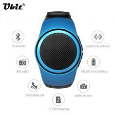 Ubit B20 Bluetooth Sports Music Watch Portable Mini Watch Bluetooth 2.1+EDR Sport Speaker TF Card FM Audio Radio Speakers