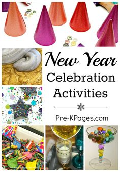 new year activities for preschool and kindergarten kids at home or in the classroom new