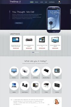 IT TheShop 2, a responsive JoomShopping theme ready for your next ecommerce project. Amaze your buyers with this unique and modern-looking design and start selling today. Make your online store more special and boost your sales using this perfect theme, you can start by browsing the Demo: http://demo.icetheme.com/?template=it_theshop2