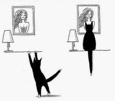 As Meninas dos Olhos Audiodescrição: Um gatinho...
