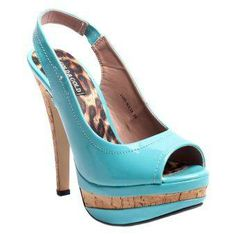Gabbriellini High Heels 1109NY38 (Blue)