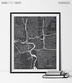 Columbus Map Print Columbus Poster of Ohio Map by MainStreetMaps https://www.etsy.com/listing/226640767/columbus-map-print-columbus-poster-of?ref=shop_home_active_24