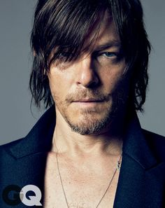 Norman Reedus HELP ME HELP ME... I'm being attacked by zombies, if only someone had a motorcycle and a cross bow they could save me!!!! ;D