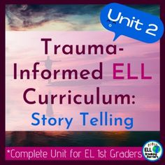 This is an all-encompassing curriculum that provides everything needed to address the language needs of first-grade language learners suffering from traumatic pasts. Unit two covers the topic, narrative storytelling. It is designed to encourage healing and successful language acquisition for ESL ELL... Feelings Words, Feelings And Emotions, Learning Goals, Social Emotional Learning, Teaching Character Traits, Formative And Summative Assessment, Short Vowel Sounds, Language Acquisition, Name Activities